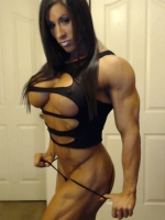 Do you fantasize about a muscular woman?